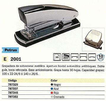PETRUS GRAPADORA 2001 40 HOJAS CROMADA 44723