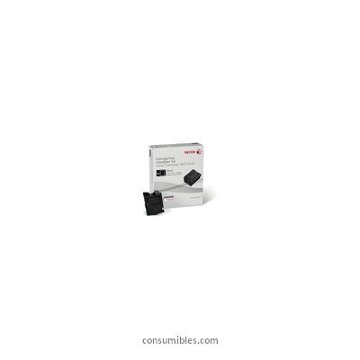 CARTUCHO TINTA SOLIDA NEGRO PACK 6 XEROX-TEKTRONIX 108R957