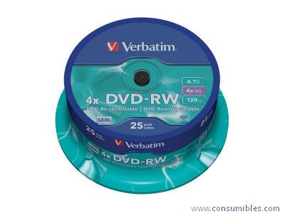 Comprar DVD+RW 403718 de Verbatim online.