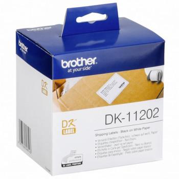 ETIQUETAS PARA ENVIOS PAPEL, 62X100 MM BROTHER DK-11202
