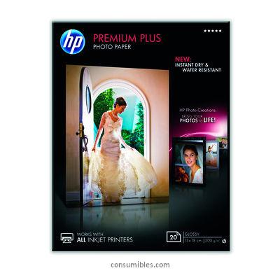 PAPEL INYECCION DE TINTA FOTOGRAFICO GLOSSY PREMIUM HP