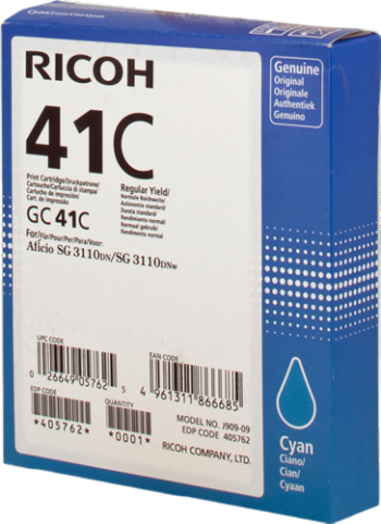 Comprar Cartucho de tinta 405762 de Ricoh online.