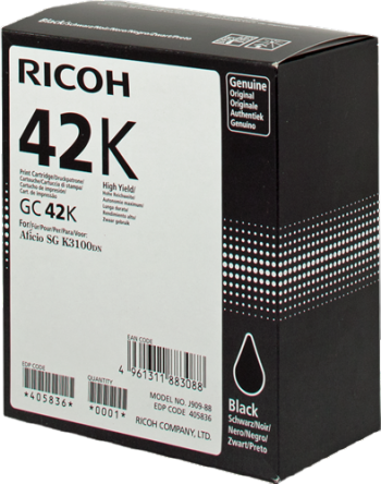 Comprar cartucho de tinta 405836 de Ricoh online.