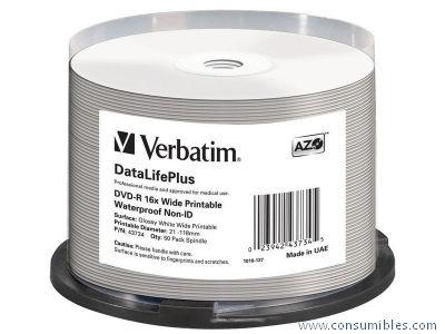 Comprar DVD+R 407045 de Verbatim online.