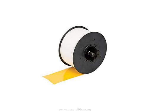 etiqueta Amarilla negro RC T1YNA pelicula plastica 100 mmX15M continuo