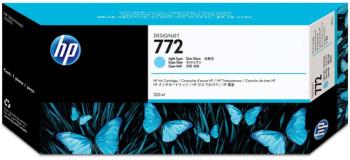 CARTUCHO DE TINTA CIAN CLARO 300 ML HP Nº 772