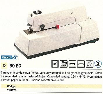 RAPID GRAPADORA ELECTRICA 90 EC 30 HOJAS 20942903