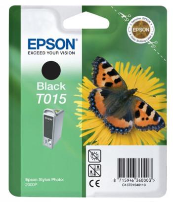 CARTUCHO DE TINTA NEGRO 15 ML EPSON T0140