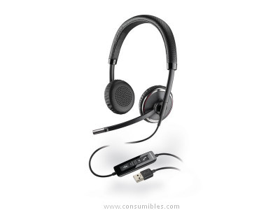 Auriculares con cable PLANTRONICS AURICULAR BLACKWIRE C520M BIAURAL