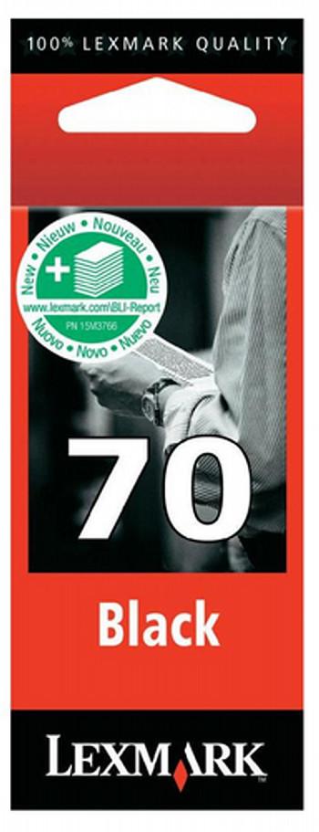 CARTUCHO DE TINTA NEGRO 1200 PPP LEXMARK Nº 70 PLUS
