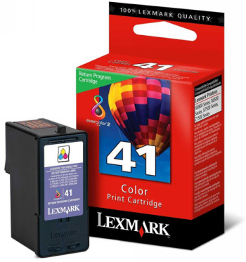 CARTUCHO DE TINTA COLOR RETORNABLE LEXMARK Nº 41