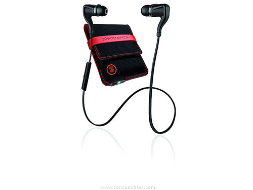 PLANTRONICS AURICULAR BACKBEAT GO2+FUNDA CARGA BK BIAURAL BLUETOOTH 200203-05