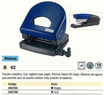 PETRUS TALADRO 62 WOW 30 HOJAS AZUL 2 TALADROS 623354