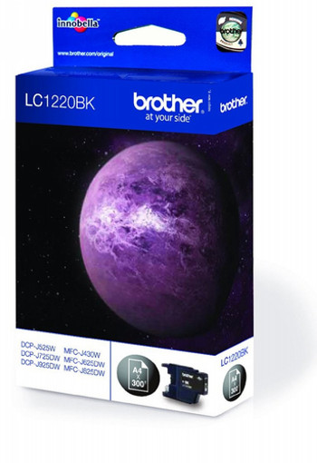 CARTUCHO DE TINTA NEGRO BROTHER LC-1220BK