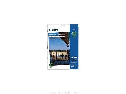 PREMIUM SEMIGLOSS FOTOGRAFICO PAPER SEMIBRILLO DIN A4 EPSON S041332
