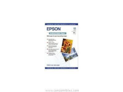 Papel EPSON PAPEL FOTOGRAFICO S041344 50 HOJAS A3 192 G MATE C13S041344
