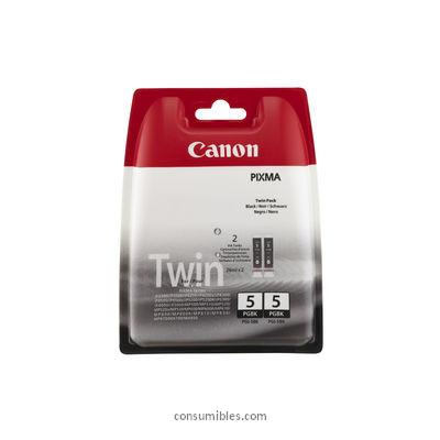 CARTUCHO DE TINTA NEGRO PACK 2 CANON PGI-5BK