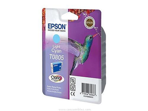 CARTUCHO DE TINTA CIAN CLARO EPSON T0805