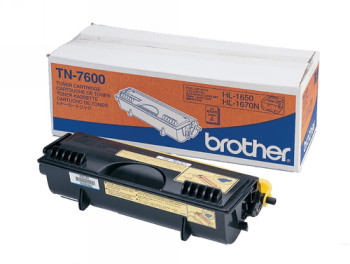 CARTUCHO DE TÓNER NEGRO BROTHER TN-7600