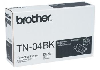 CARTUCHO DE TÓNER NEGRO BROTHER TN-04BK