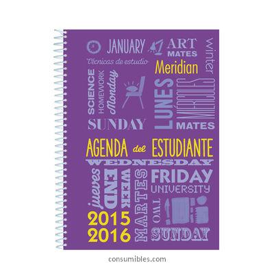 Meridian ADDITIO ADDITIO AGENDAS MERIDIAN A5 SEMANA VISTA CASTELLANO A132