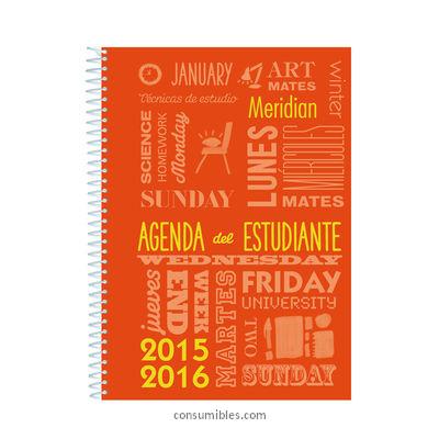 Agendas Semana vista ADDITIO ADDITIO AGENDAS MERIDIAN A5 SEMANA VISTA CATALAN A131