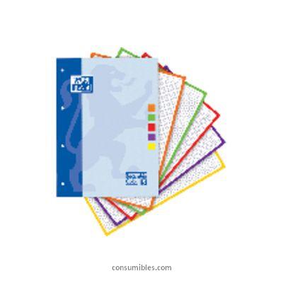 Cuadricula 5 x 5 ENVASE DE 5 UNIDADES OXFORD RECAMBIO DE PAPEL 80H A4 CUADRICULA 5X5 400045041