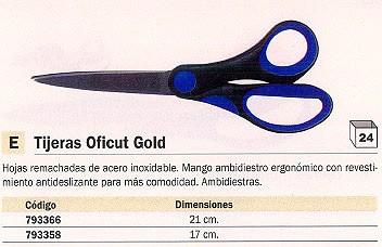 FISKARS TIJERAS OFICUT GOLD 17 CM ACERO INOXIDABLE EPO76B