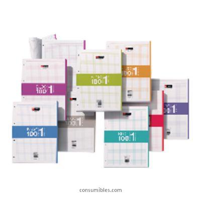Colores MIQUEL RIUS RECAMBIO DE BLOC 100H CUADRICULA 5X5 VERDE 7424