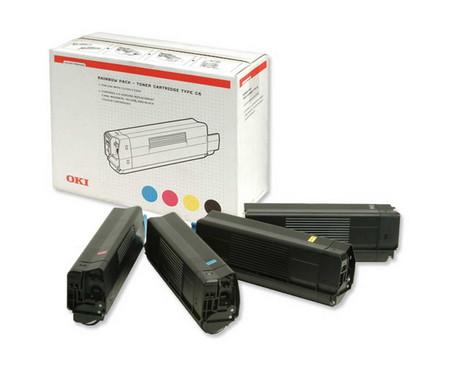 Comprar pack 4 cartuchos de tinta 42403002 de Oki online.