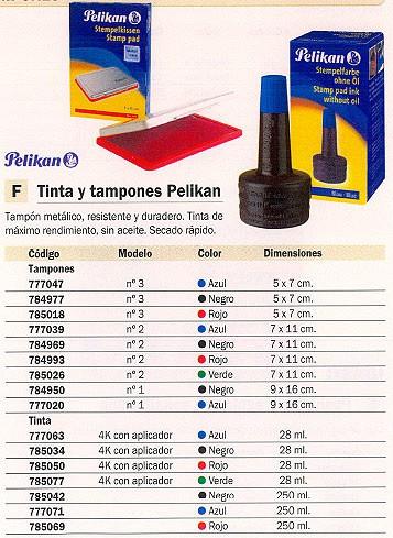 PELIKAN TINTA 4K CON APLICADOR 28 ML 351221