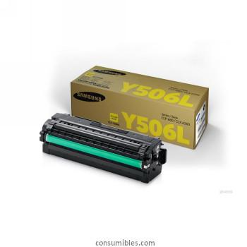 Comprar cartucho de toner CLT-Y506L de Samsung online.