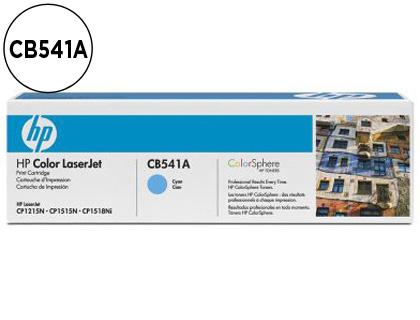 CARTUCHO DE TÓNER CIAN CON COLOR SPHERE 541A HP 125A