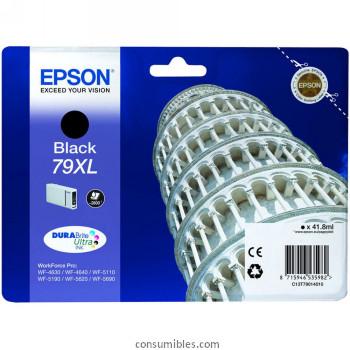 Comprar cartucho de tinta alta capacidad C13T79014010 de Epson online.