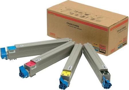 Comprar Rainbow Pack cartuchos de toner 43112702 de Oki online.