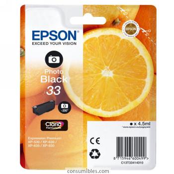 Comprar cartucho de tinta C13T33434010 de Epson online.