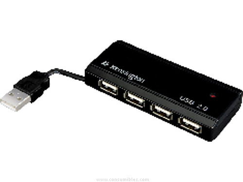 KENSINGTON HUB 4 PUERTOS USB 2.0 33399EU