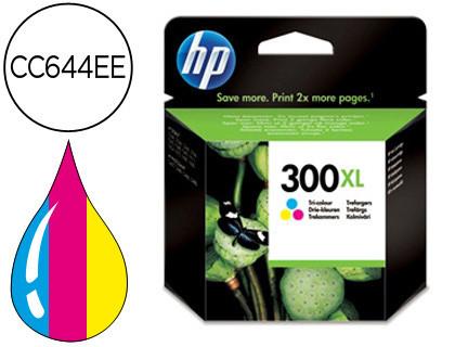 Cartucho de Tinta Tricolor Alta Capacidad HP Nº 300XL