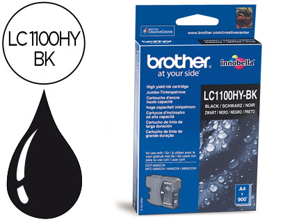 Comprar cartucho de tinta LC1100HYBK de Brother online.