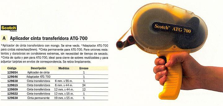 SCOTCH APLICADOR CINTA ATG-700 78811408273