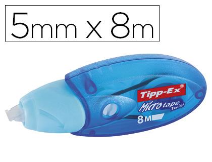Correctores ENVASE DE 10 UNIDADESCORRECTOR TIPP-EX MICRO TAPE TWIST 6MT X 5MM