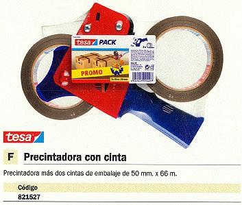 TESA PRECINTADORA 50 MMX66 M 57455-00001-01