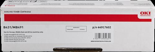Comprar cartucho de toner 44917602 de Oki online.