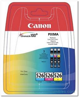 Comprar Pack de 3 cartuchos de tinta 4541B009 de Canon online.