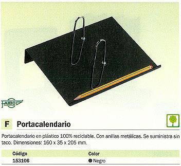 FAIBO CANON CALENDARIO 160X35X205 NEGRO 98-02