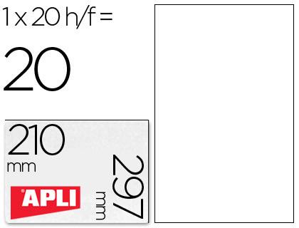 Poliester Etiquetas adhesivas de poliester resistente a la intemperie para impresora laser 210x297 mm