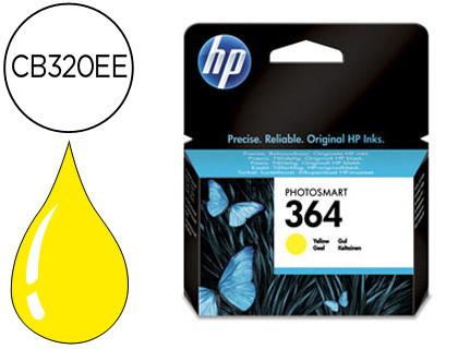 Cartucho de Tinta Cartucho Amarillo HP Nº 364