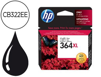 Cartucho de Tinta Cartucho Fotografico negro Alta Capacidad HP Nº 364XL