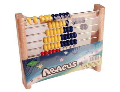 Juegos de mesa ABACO MADERA 21X17,5X 5 CMS 100 BOLAS 790/030/0000
