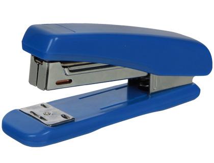 Grapadoras de sobremesa GRAPADORA Q-CONNECT KF11064 PLASTICO AZUL -CAPACIDAD 25 HOJAS